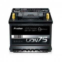 Lithiumbatterie Panther Lion 75 - 12V 75 Ah